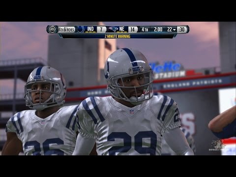 Madden NFL Playoffs 2015 AFC Game Championship - Indianapolis Colts vs New England Patriots