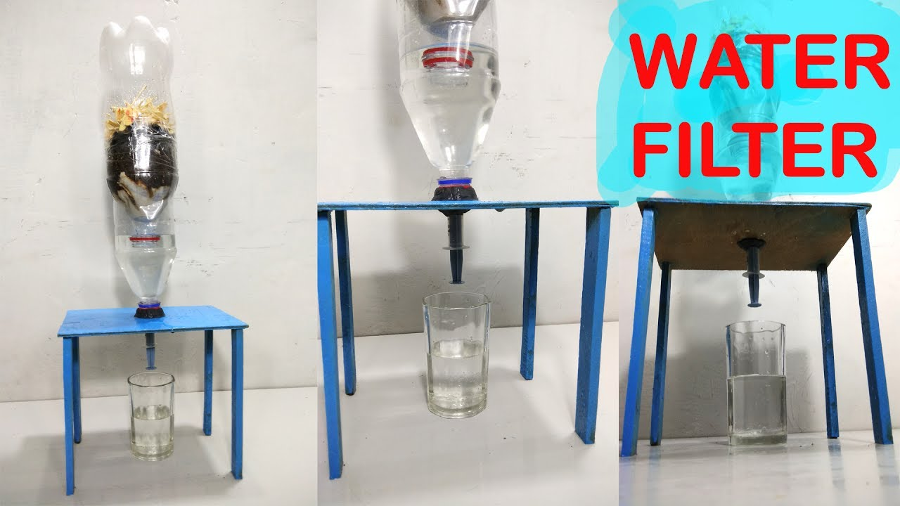 How To Make Water Filter At Home Easy Way DIY - YouTube