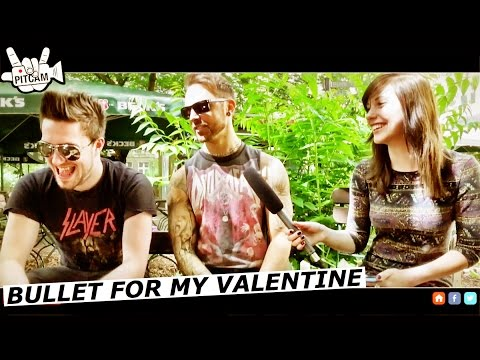 BULLET FOR MY VALENTINE interview with  Matthew Tuck and Jamie Mathias | www.pitcam.tv
