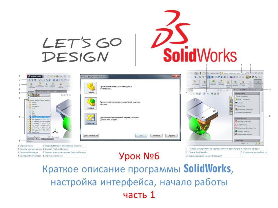 Solidworks описание