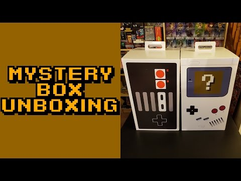 Unboxing: Mystery Boxes - WHAT DID I WIN? (Calgary Expo 2017)