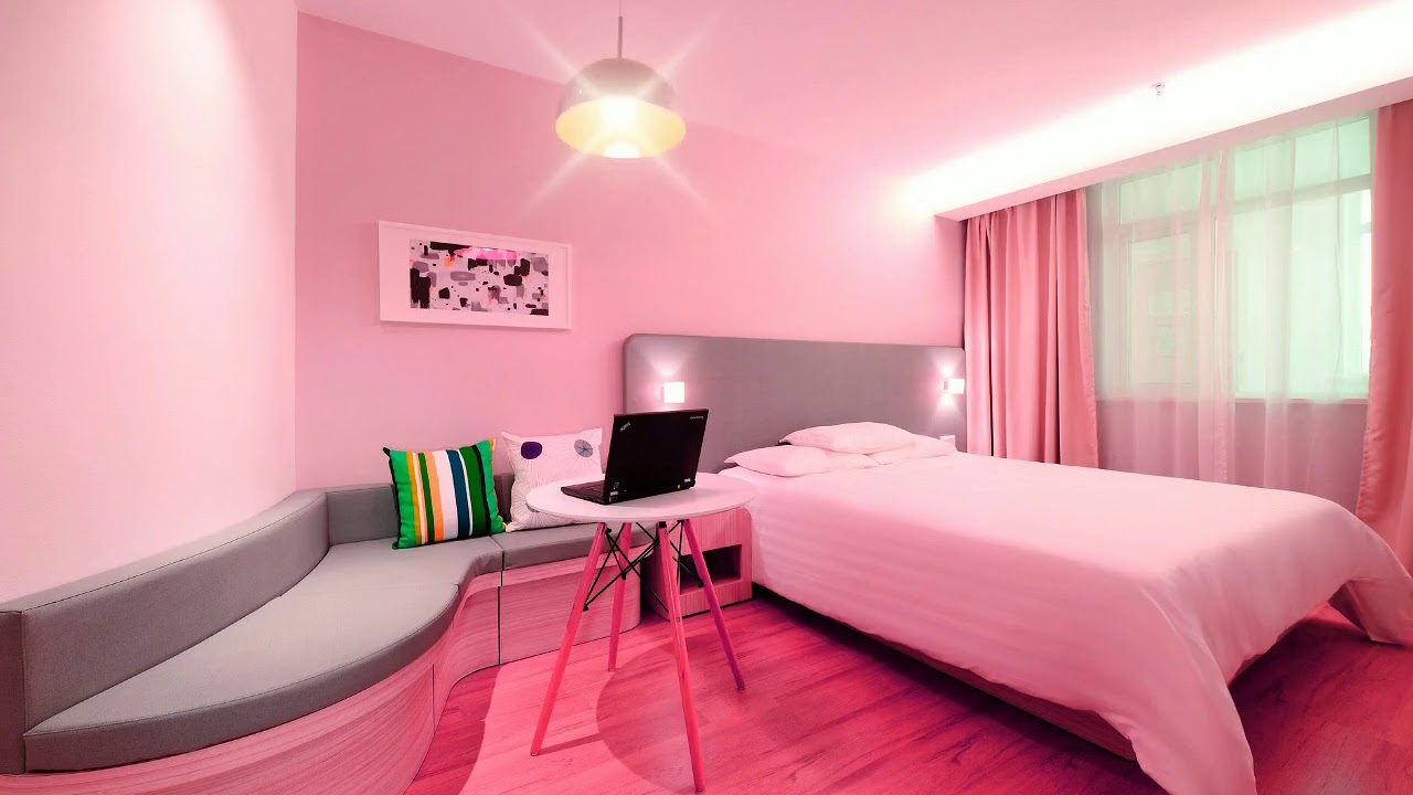 Beautiful Pink Theme Bedroom Animated Background Hd1080p Motion Animated Background For Green Screen Youtube
