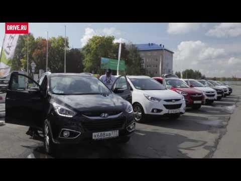 2013 Hyundai ix35 За кадром