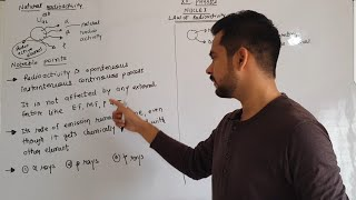 3.Law of radioactivity | nuclei; class 12 physics