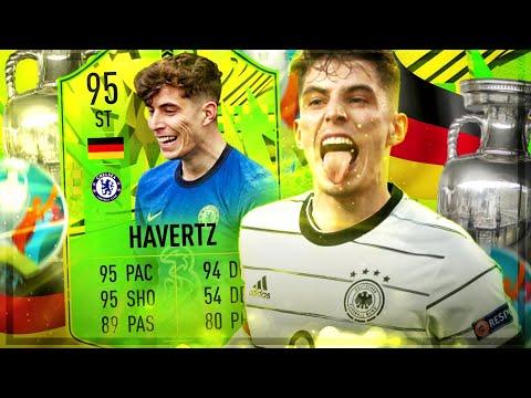 FIFA 21 : HAVERTZ 95 PATH TO GLORY Squad Builder Battle 😱🔥