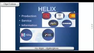 Presentation of company - Helix Capital in the English language - Хеликс Капитал