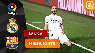 PRACHTIGE GOAL VAN BENZEMA 🤩   Real Madrid vs Barc