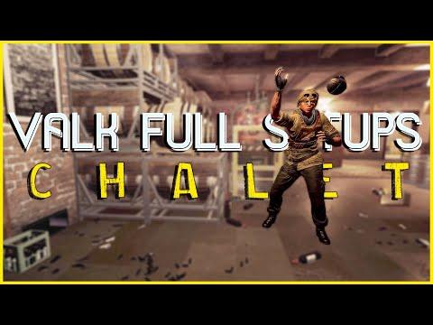 Valk Full Setups: Chalet   Valkyrie Cam Spots   Rainbow Six Siege