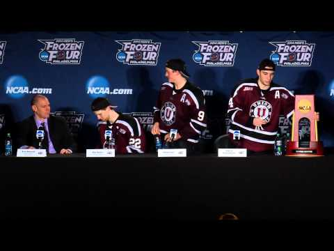 Union College Men's Ice Hockey Championship Post Game Press Conference