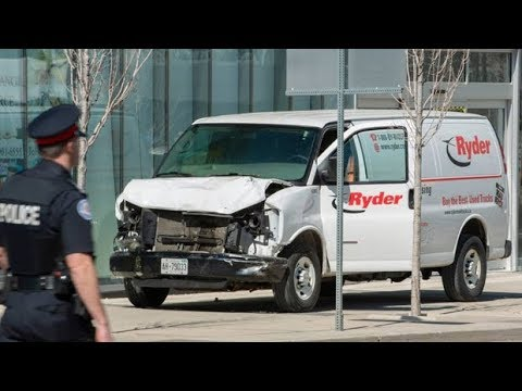 Toronto police name van attack victims