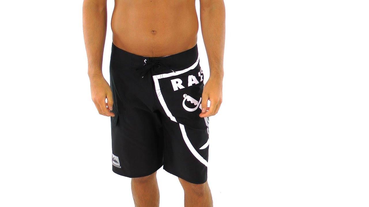 1cfb9b6e14 Quiksilver Men's Raiders Board Shorts | SwimOutlet.com