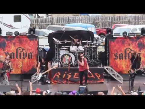 Saliva - All Because of You (Rockin the Rivers 2015)