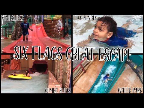 Six Flags Great Escape Indoor Water Park Winter Edition Queensbury New York