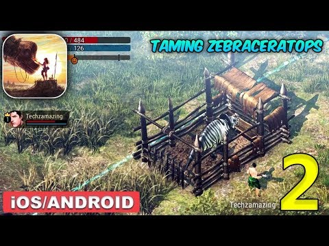 DURANGO : WILD LANDS - TAMING ZEBRACERATOPS GAMEPLAY - Part 2