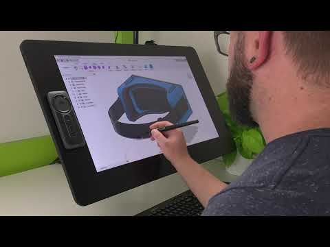 How to use CAD with a Wacom pen