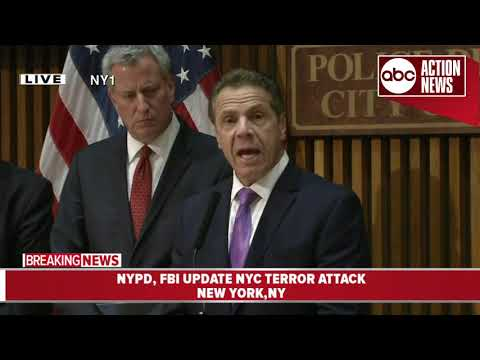 NYC suspect apparently plotted for weeks, attacked in name of ISIS; Officials hold press conference