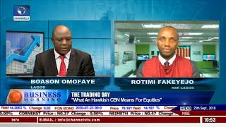 Trading Day: What An Hawkish CBN Means For Equities |Business Morning|