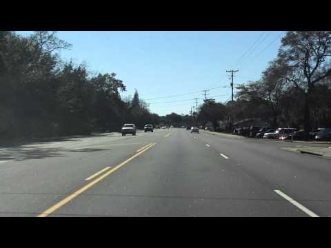 Chuck Dawley Boulevard (Interstate 526 BUSINESS SPUR) southbound