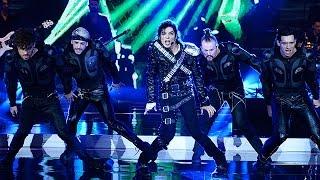 ¡Sergio Cortés el imitador de Michael Jackson! - Susana Giménez