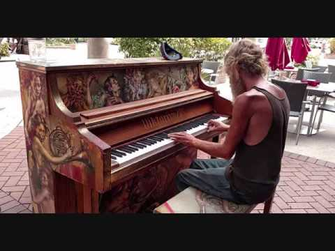 17 MINUTES OF Beautiful Piano played  Homeless Guy Donald Gould