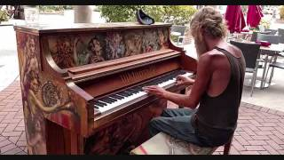 17 MINUTES OF Beautiful Piano played by Homeless Guy Donald Gould