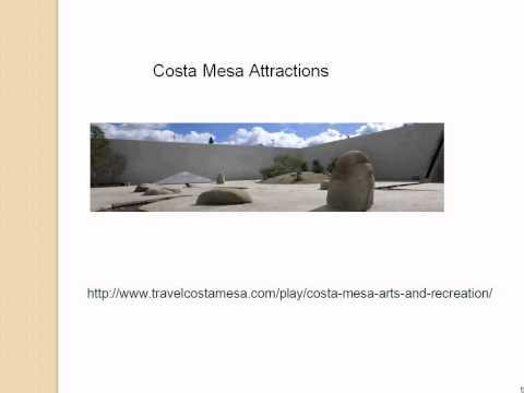 Visiting Beautiful Costa Mesa