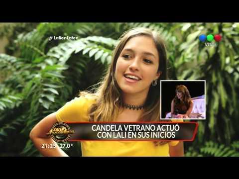 Cande Vetrano sorprendió a Lali Espósito - Laten Argentinos