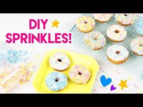 How to Make DIY Rainbow Sprinkles!