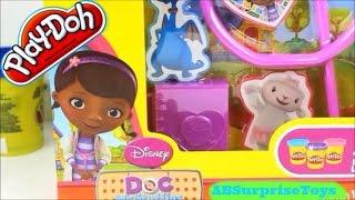 Pâte à Modeler Play-doh Doc La Peluche Trousse Du Docteur  play Doh Mcstuffins Lambie