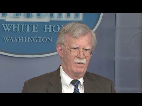National Security Adviser John Bolton sees no point listenin