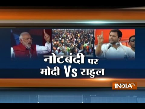 PM Narendra Modi vs Rahul Gandhi at Two Rallies in Uttar Pradesh
