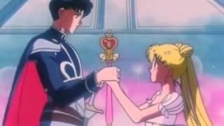 Sailor Moon riceve il cristallo del cuore