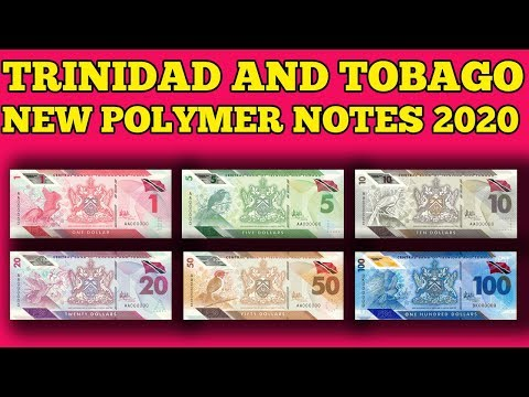 Currency Of The World -Trinidad And Tobago. NEW Polymer Banknotes 2020