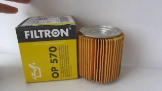 Масляный фильтр Filtron OP 570