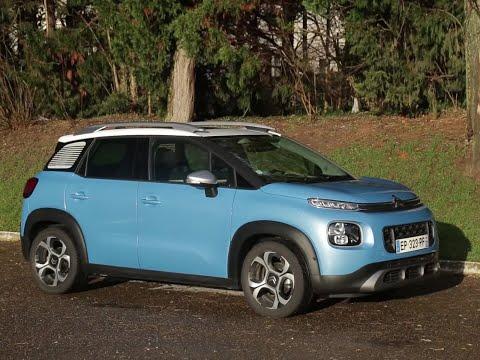 Essai Citroën C3 Aircross BlueHDI 100 Shine (2017)
