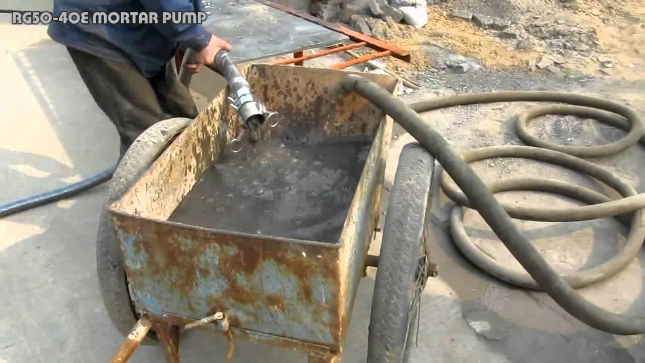 www.zsme.cc ZMP50-40 Mortar pump(ZMP50