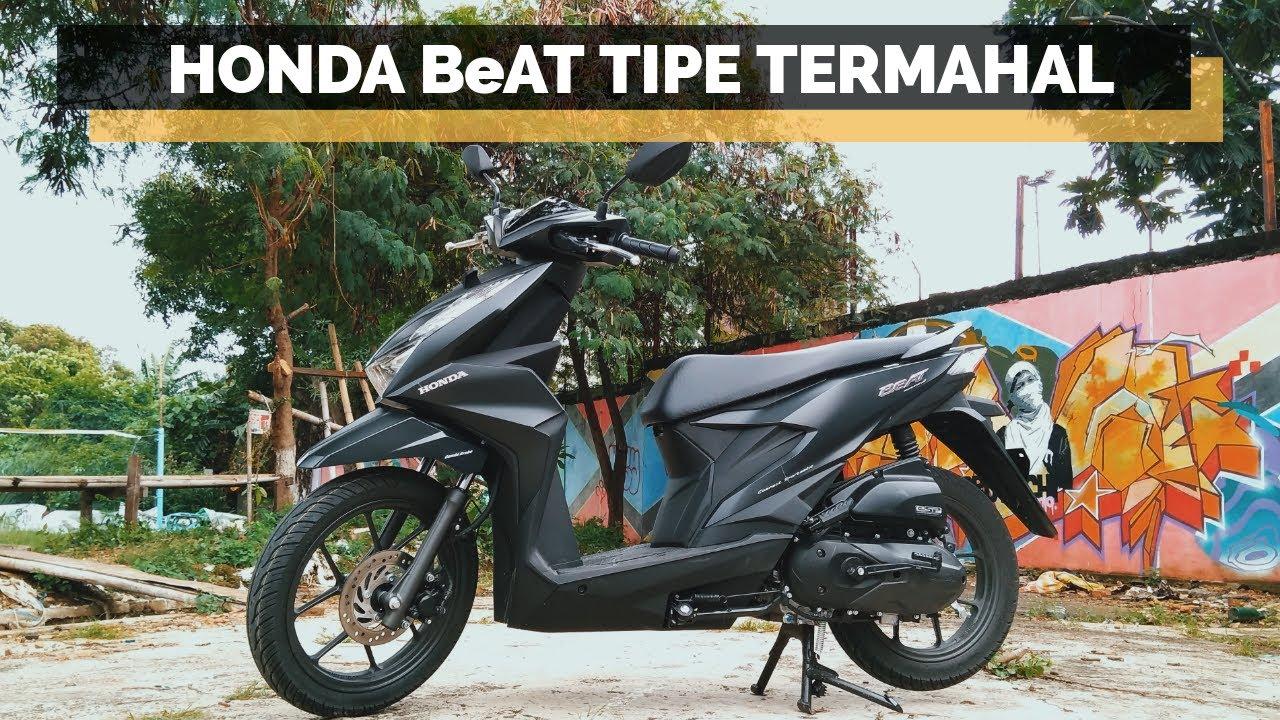 Review Honda Beat Terbaru 2020 Cbs Iss Deluxe Black Youtube
