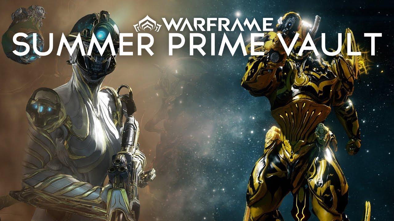 Warframe Prime Vault Summer 2018   Amtframe org