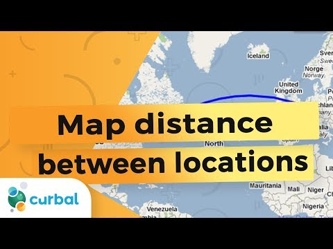 34 Calculate the distance between two points/locations