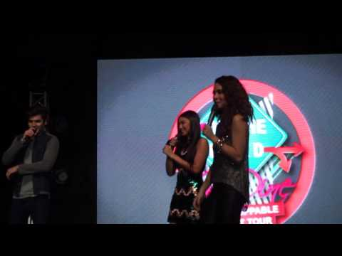 Boys VS Girls - Fab Four Part 1 (On the Road with JaDine: The Unstoppable Concert Tour CEBU)