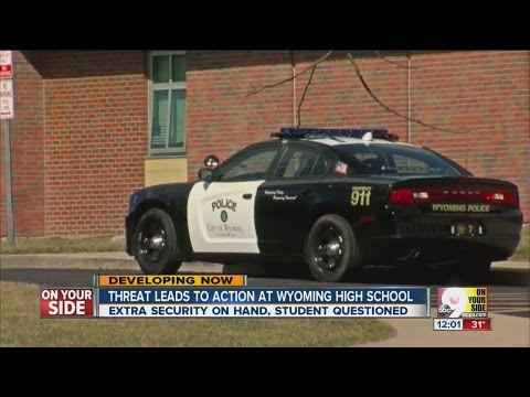 Threat leads to action at Wyoming High School