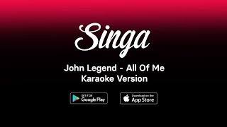 Gambar cover John Legend - All Of Me (HQ Karaoke Version)