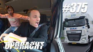 #375: Niet-Stoppen-Race met Vrachtwagen [OPDRACHT]