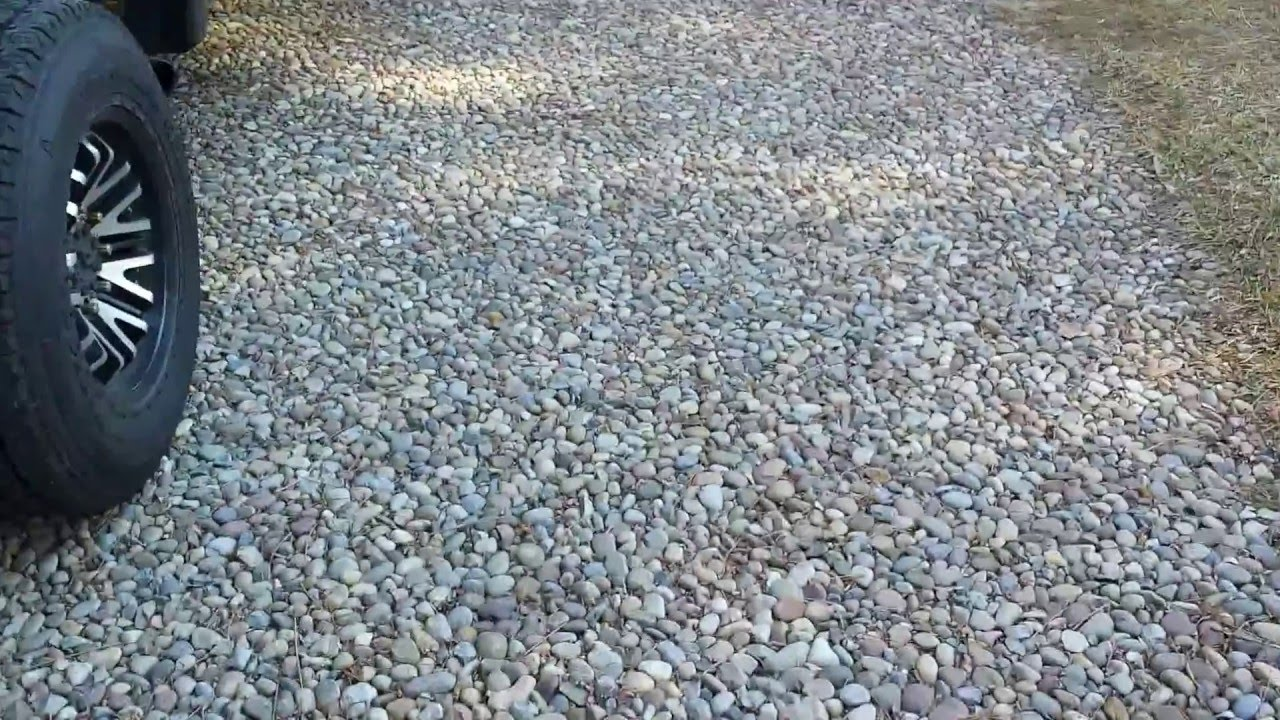 No One Likes My River Stone Driveway And I Don T Care Landscaping