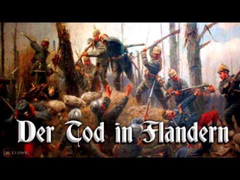Der Tod in Flandern [German folk song][+English translation]