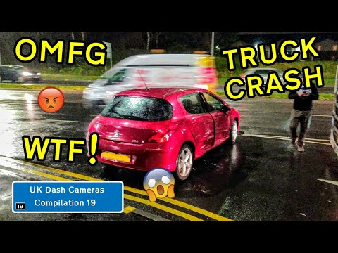 UK Dash Cameras - Compilation 19 - 2020 Bad Drivers, Crashes + Close Calls