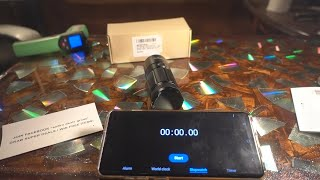 The Sofirn SF11 High Powered AA Battery flashlight