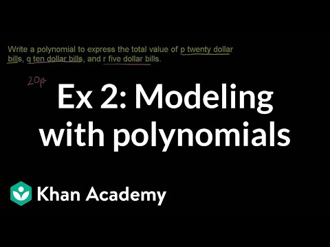 Example 2: Modeling with polynomials | Algebra I | Khan Academy