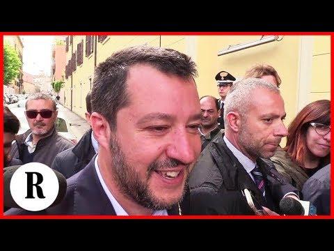 """Governo, Salvini: """"Non smentisco mai Giorgetti ma Conte è sempre imparziale"""". E scivola sul latino"""
