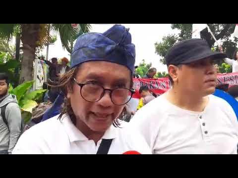 Demo Tolak Reuni 212 di Balaikota